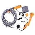 Eletrônico 12 V Lavador de Carros Portátil Chuveiro Ferramenta De Limpeza Do Carro Wash Kit de Viagem de Acampamento Ao Ar Livre Da Motocicleta