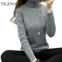 Refeeldeer New Arrivals Thick Warm Turtleneck Winter Sweater Women 2017 Knit Women Sweaters And Pullovers Female