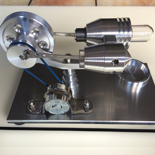 Stirling engine, external combustion engine, physical toy high turbulence combustion in a low emission di diesel engine