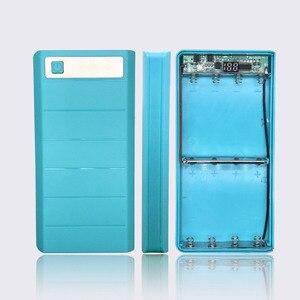 Image 4 - DIY 8x18650 чехол для внешнего аккумулятора, держатель для аккумулятора, зарядное устройство с цифровым дисплеем трубки для iPhone Samsung, два порта USB и Type C