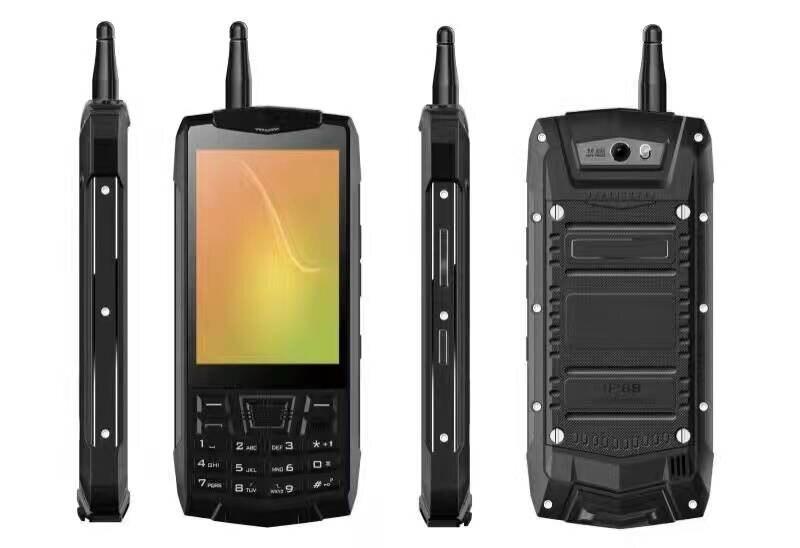Original N2 Android 6.0 Smartphone IP68 A Prueba de agua Walkie Talkie NFC gps w
