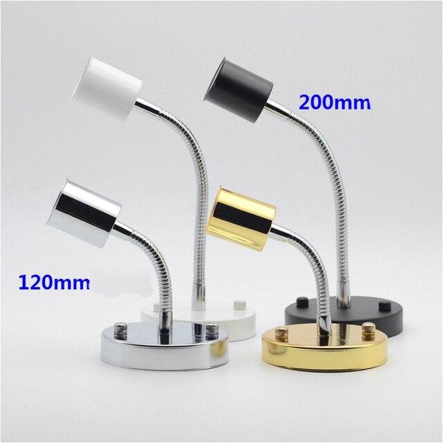 E27 Lampe Halter 180 Grad Rotation 120mm 200mm Rohr DIY Beleuchtung Zubehör  Für Wohnzimmer Esszimmer Nacht