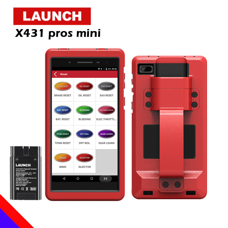LAUNCH X431 PROS MINI Car Diagnostic scanner automotivo obd2 scanner Launch diagnostic tool launch x431 pro obd2 Bluetooth WIFI 2017 new launch x431 easydiag 2 0 obd2 bluetooth adapter original launch easydiag free diagnostic cable for android ios as gift