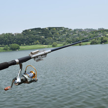 2017 Stainless Steel Automatic Fishing Rod 2.1m 2.4m 2.7m 3.0m FRP Sea Fishing Rod (Without Reel) 5% off for 2pcs and more