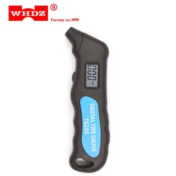 WHDZ TG105 cyfrowy opona samochodowa opona miernik ciśnienia powietrza manometr barometr tester tanie i dobre opinie 1 9 Cali i Pod DIGITAL 200 PSI i Powyżej