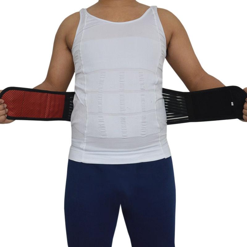 Medical Belt Tourmaline Belt Self Heating Thermal Promote Blood Circulation Lower Waist Orthopedic Back Support Belt AFT-Y011