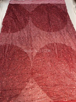 Good quality african tulle lace fabric  JRB-101927 french net lace fabric with glued glitter for party dress
