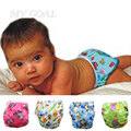 Bebé de la manera Del traje de Baño Niñas Niño Pañal Pañales para Nadar traje de Baño Del Bebé de Dibujos Animados