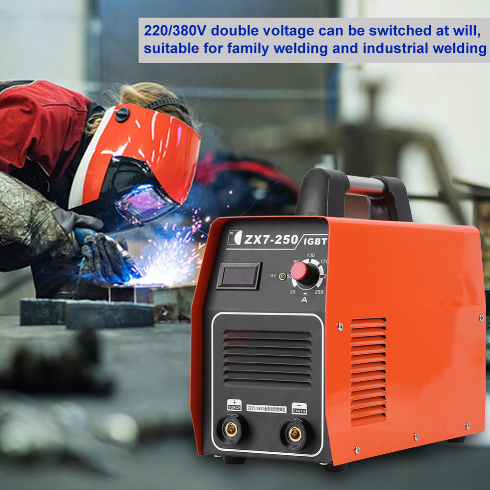 Zx7 250 Welding Machine 220 380v Dual Voltage Dc Inverter Tig Arc Welder 110v220v Soldering Tools On Wiring 5