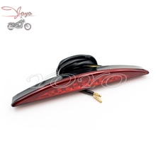 Brand New Rear LED Fender Tip Tail Light For Harley Softail FXSB Breakout 2013 2014 2015 2016