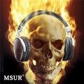 100% Original MSUR N350 Noise Isolating HiFi Wooden Metal Headphone Headset Earphone With Beryllium Alloy Driver Portein Leather