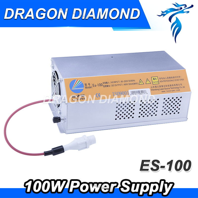 CO2 Laser Machine Power Supply 100W for EFR Laser Tube