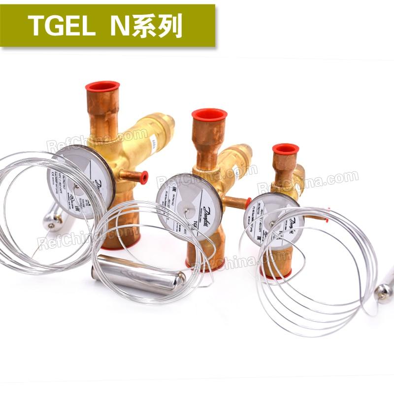 Thermal expansion valve TGEL R410A N series 3.5-067N3150 3.5-067N3151 4.5-067N3152 6.5-067N3153 цена и фото