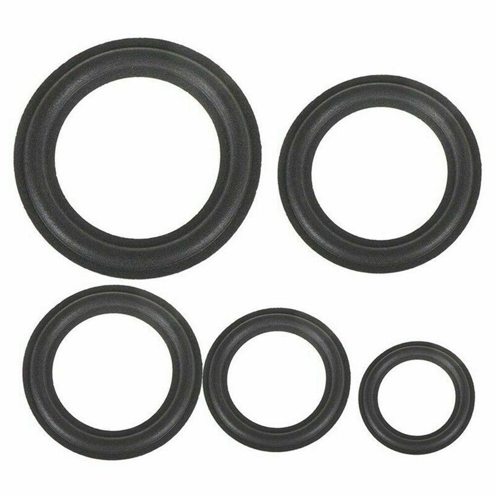 DIY Universal Parts Durable Horn Foam Replacement Dustproof Surround Folding Rubber Edge Ring Speaker Accessories Woofer