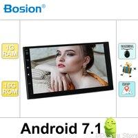 Quad core 2 din android 7.1 Universal Car Multimedia Player Car Radio Dvd Player Stereo 7 Inch Autoradio Gps Navigation Camera