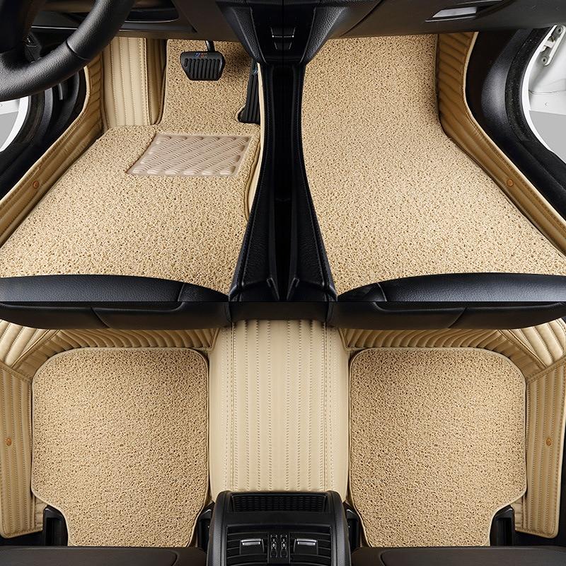 Car Floor Mats Rugs Pad For Wrangler Sahara Liberty Grand Cherokee