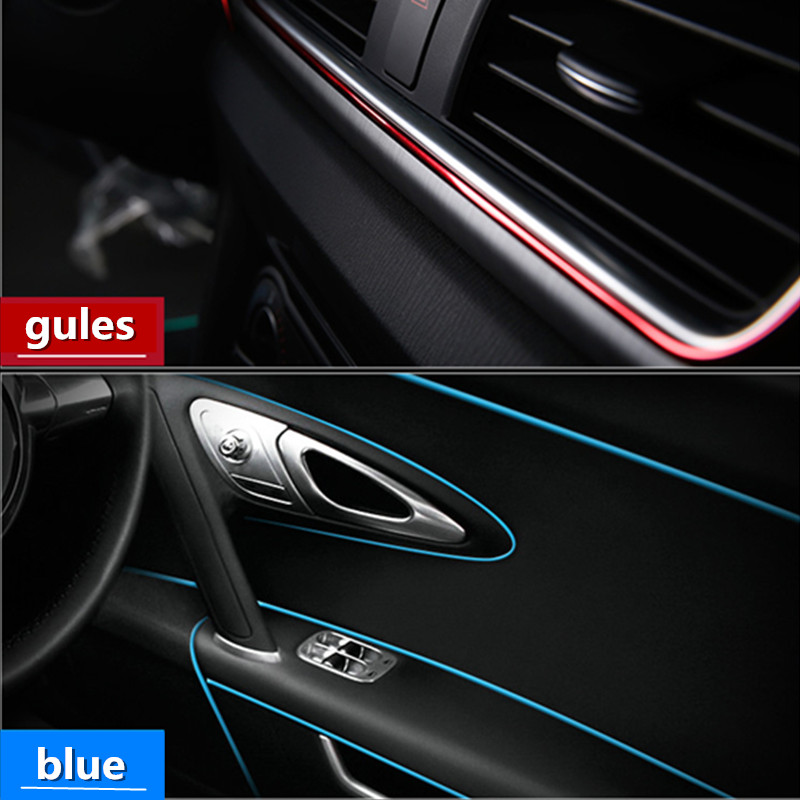Image 5 - 3M 5M Car Styling Interior Exterior Decoration Strips Stickers for Ford Focus 2 3 4 Mondeo Ecosport Fiesta Car Accessories-in Car Stickers from Automobiles & Motorcycles
