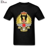 Emblem Of The Spanish Armed Forces Tee Shirt Men Man S Creative Short Sleeve Cotton Custom