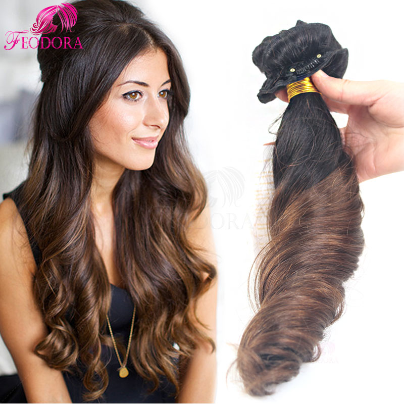Ombre Clip In Human Hair Extensions Sale Clip In Hair Extensions