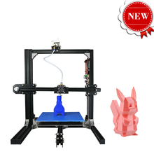 2017 New Upgraded Quality High Precision DIY Desktop Reprap Prusa I3 3D Printer Clear HD LCD 12864 Display Imprimante 3D