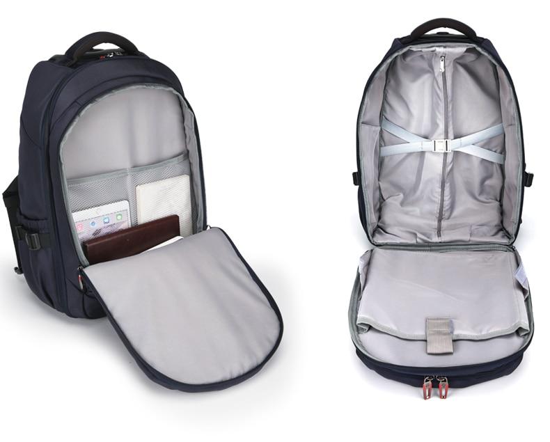 Мужские Оксфордские дорожные багажные сумки на колесиках, дорожные сумки на колесиках, женские рюкзаки на колесиках, деловые чемоданы на колесиках