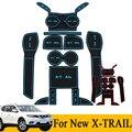 Antiderrapante pad porta copo mat ranhura portão porta capacho caso para nissan x trail-t31 x trail 2014 2015 xtrail auto acessórios do carro styling