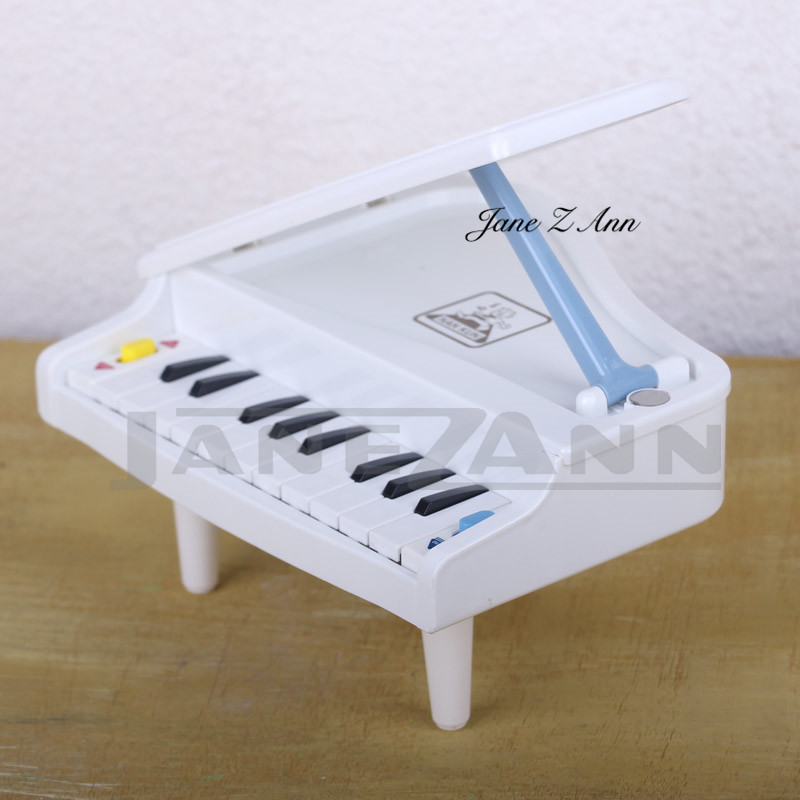 Jane Z Ann Newborn Baby Photo Props Creative Mini Piano Studio Photography Props White Piano Studio Photo Shoot Accessories