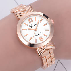 Высокое качество для женщин часы нержавеющая сталь браслет платье дамы кварцевые часы наручные Montre Femme Reloj Mujer