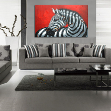 Buy zebra oil painting canvas and get free shipping on aliexpress apchy zebra oil painting canvas modern oil painting altavistaventures Images