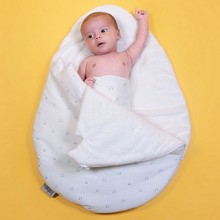 Newborn Cocoon Wrap Sleepsack,Sleeping Bag, Receiving blankets egg Shaped Winter Warm Thick for Infant saco bebe dormir slaapzak