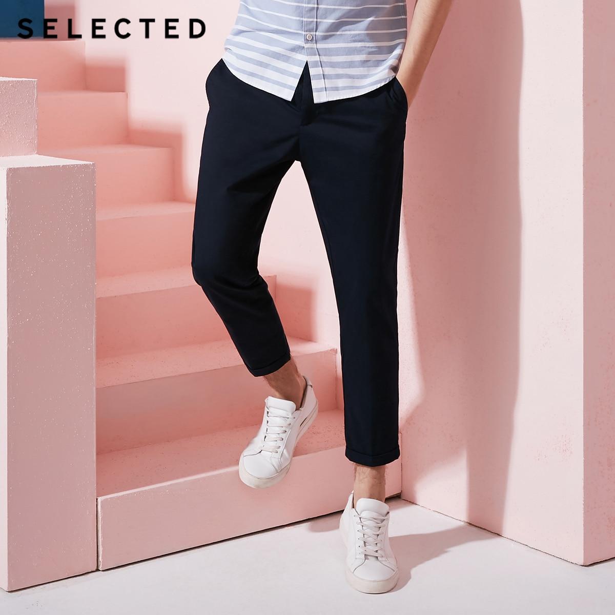 เลือกผ้าฝ้ายผสมรูปทรงกรวยสับกางเกง S  4182W2507-ใน กางเกงคาร์โก้ จาก เสื้อผ้าผู้ชาย บน AliExpress - 11.11_สิบเอ็ด สิบเอ็ดวันคนโสด 1