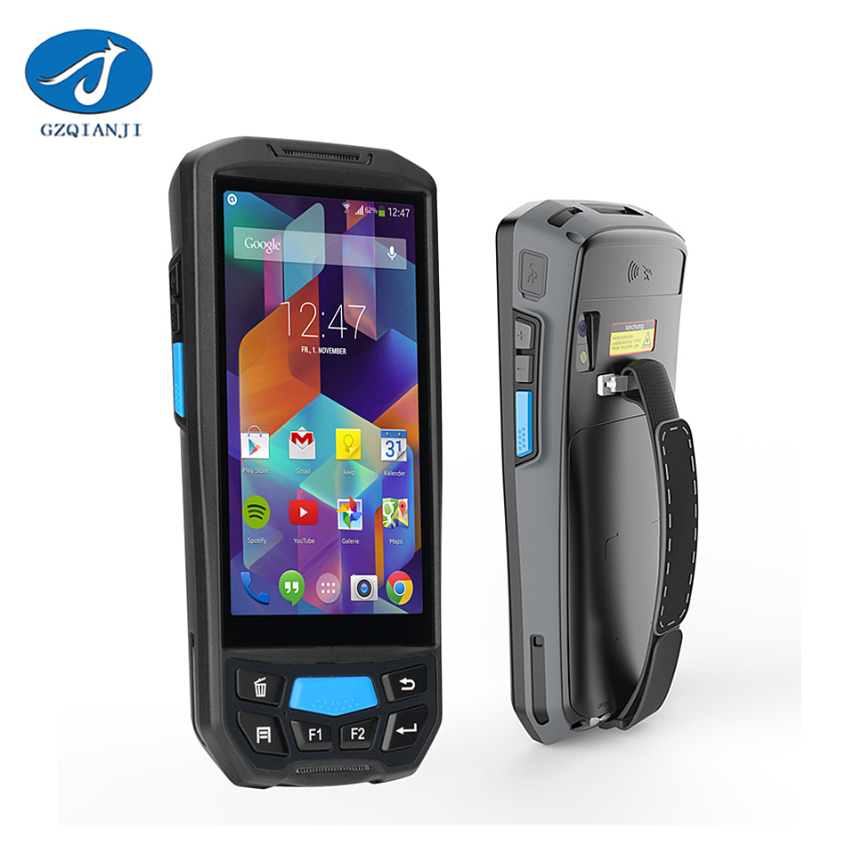 Rugged PDA 2d Barcode Scanner Andriod Handheld Device wifi / blue tooth / 4G rugged pos  ...