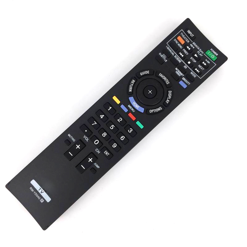 NEW Universal Replacement Remote Control Fit For Sony RM-YD040 148782911 KDL-40HX805 3D LED LCD Real SXRD XBR BRAVIA HDTV TV universal replacement remote control fit for vizio vp42 vp50 vm190vxt lcd led plasma hdtv tv