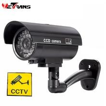 wetrans cctv camera fake security camera Outdoor dummy camera falsa camara de seguridad exterior