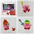 Lindo Dream Land Kirby Nendoroid 544 PVC Figura de Acción de Colección Modelo de Juguete Para Niños Muñeca