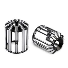 Motorcycle Oil Filter Cover CNC Aluminum Oil Grid For Harley Touring Sportster XL 883 Softail Dyna CVO Fatboy Twin Cam Motorbike(China)