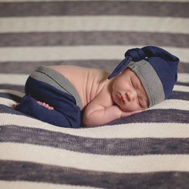 2 шт. для новорожденных вязаные длинные брюки Шапки реквизит для фотосессии Костюмы Интимные Аксессуары Костюмы для новорожденных Подставк...