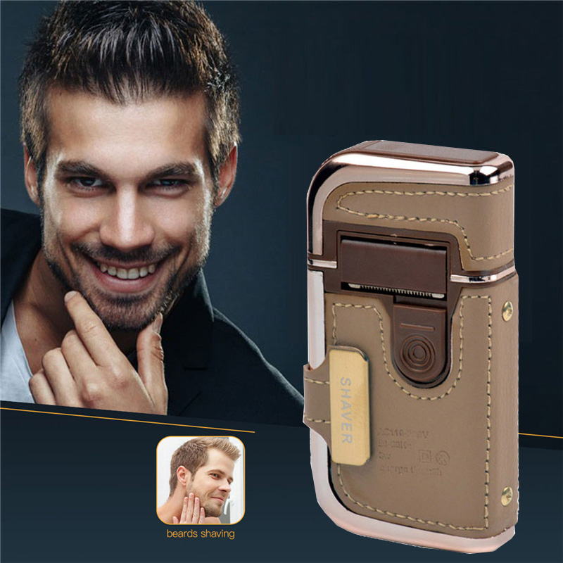 2 in 1 Portable Rechargeable Electric Shaver Hair Trimmer