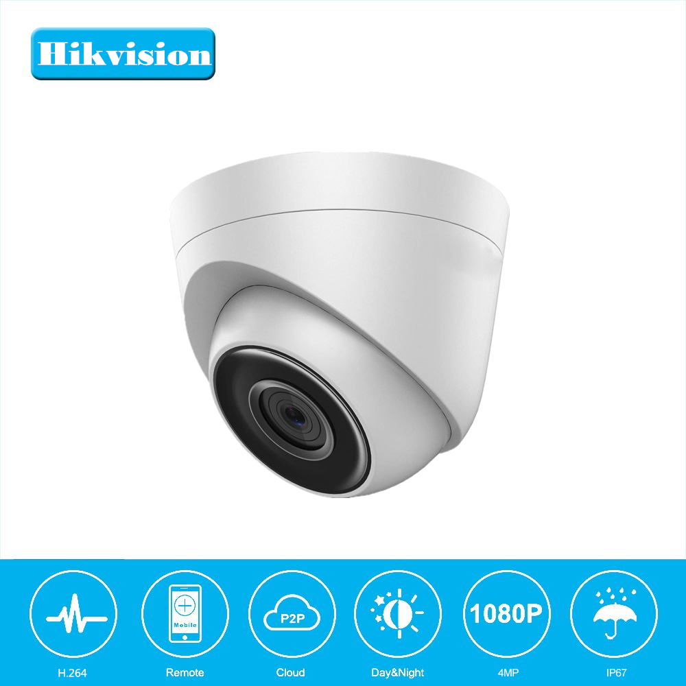Hikvision OEM DS-2CD1321-I English Version Security Dome IP Camera Turret Network Camera CCTV camera POE IP67 Support Upgrade hikvision ds 2cd4065f original english version ip camera 6mp security camera cctv camera p2p onvif poe indoor hd h265
