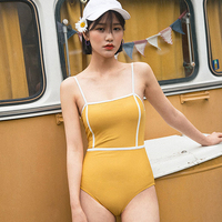 For Womens Swim Wear Women's Summer Suit A Full Swimsuit Women Vintage Female Size Push Up Sexy Beach Solid Polyester Sierra