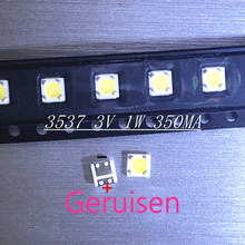 LUMENS LED Backlight 1W 3V 3535 3537 Cool white LCD Backlight for TV For SAMSUNG LED LCD Backlight TV Application 4D