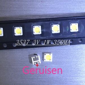 Image 1 - LUMENS LED Backlight 1W 3V 3535 3537 Cool white LCD Backlight for TV For SAMSUNG LED LCD Backlight TV Application 4D