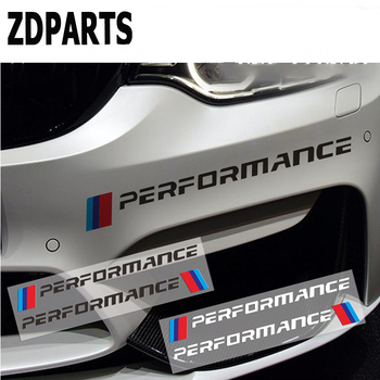 ZDPARTS 2PC Car Front Bumper And Decals Rear Stickers For BMW E46 E39 E90 E60 F30 F10 E34 X5 E53 E30 F20 E92 E8 M4 M5 X5 X6 image