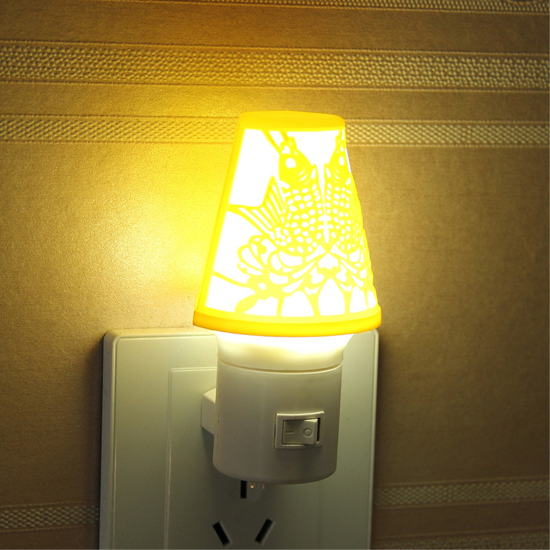 LED Pisces small night light creative product desk lamp