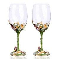 Một Pha Lê Red Wine Glass Hoa Sáng Tạo Phù Điêu Tinh Thể Khắc Ly thủy Công Suất Lớn Glass Wine Ly Rượu Sâm Banh Rượu Vang X814-3
