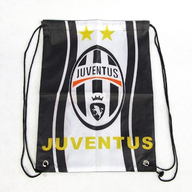 2016 Italy Juventus Backpack Bag White-Black Soccer Team Badge Shoe Football Fans Souvenir - jim yue's store