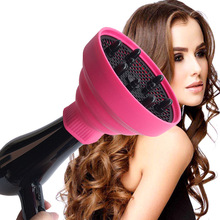 Hot Lightweight Foldable Silicone Hair Tool Diffuser for Hair