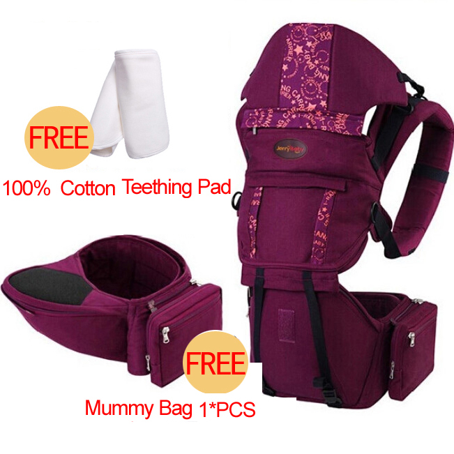 Mother & Kids Backpacks & Carriers Candid 2018 New Ergonomic Cotton Baby Carrier Adjustable Baby Sling Activity≥ar Portable Multifunctional Kid Carriage Wrap Suspenders