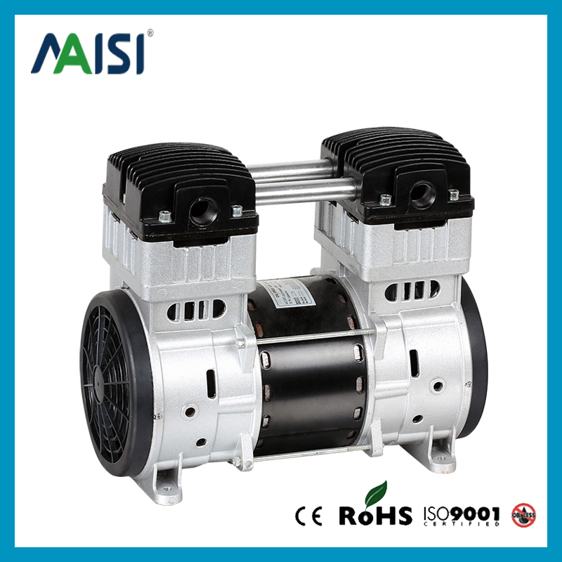 220V (AC) 200L/MIN 1500 W Oilless Piston Compressor Pump HYW-1500 manka care 110v 220v ac 50l min 165w small electric piston vacuum pump silent pumps oil less oil free compressing pump