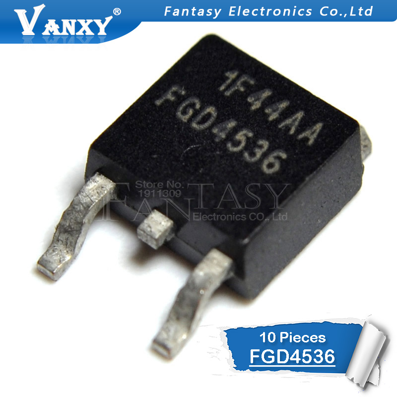 10pcs FGD4536 TO 252 FGD4536TM TO252 new original-in Integrated Circuits from Electronic Components & Supplies